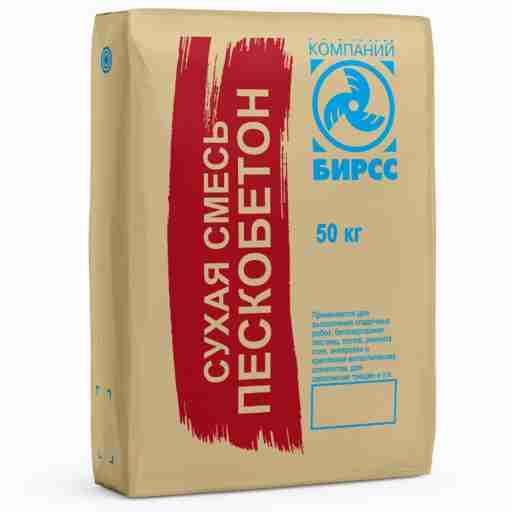 Цементно-песчаная смесь м300 (пескобетон М300)